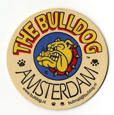 https://flic.kr/p/oKtAPE | Bulldog Amsterdam Coaster | Beer Mat from my trip to The Dam