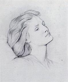 Fanny Cornforth (1859) D G Rossetti