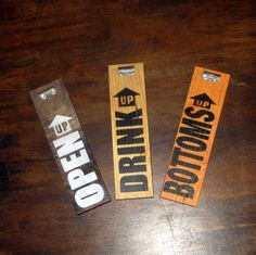 Beer  Sign Bottle Opener by RusticVision on Etsy, $15.00