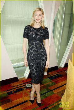 Cate Blanchett: 'Blue Jasmine' Luncheon