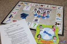 Memory Lane homemade family board game that allows you to take a trip down memory lane Gift Baskets For Men, Themed Gift Baskets, Raffle Baskets, Homemade Board Games, Make A Game, Family Board Games, Rainy Day Activities, Homemade Toys, Memory Games