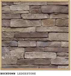 STONE CRAFT-Bucktown - goes well with chosen sherman williams colors