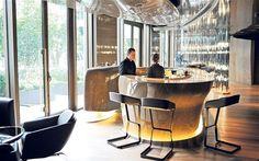the bar at Mandarin Oriental, Paris