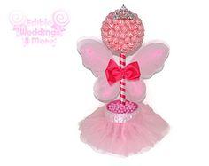 Lollipop Groom Topiary Candy Groom Topiary por EdibleWeddings
