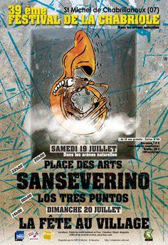 39ème Festival de la Chabriole, Saint-Michel-de-Chabrillanoux (07360), Rhône-Alpes