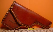 Beautiful Antique Hand Laced Leather Old Style Western Gun Holster MAKE OFFER $95.00 or Best Offer +$8.95 shipping