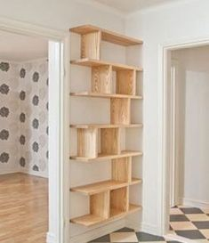 How to Build DIY Floating Shelves   DIY, Floating Shelves Diy Wall Shelves, Bookshelf Ideas, Floating Shelves, Shelving Ideas, Floating Wall, Bookshelf Design, Crate Bookshelf, Bookshelf Plans, Corner Shelves