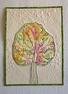 Obrázky - Textilný obraz - Strom radosti - 7065991_