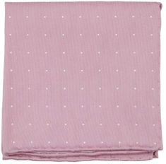 Bulletin Dot Pink Pocket Square with 12 in. Pink Pocket Square, Polka Dot Tie, Silk Fabric