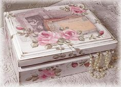 1000+ images about Decoupage on Pinterest | Decoupage Box, Jewelry ...