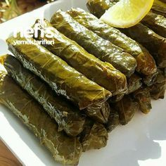 Anne Usulü Lokum Yaprak Sarma – Vegan yemek tarifleri – The Most Practical and Easy Recipes Turkish Vegetables, Turkish Recipes, Ethnic Recipes, Turkish Delight, Homemade Beauty Products, Side Dishes, Food And Drink, Cooking Recipes, Yummy Food