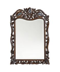 "St. Agustine 20"" Wall Mirror in Antique French Brown"