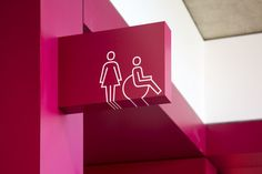 Oxford Brookes University, Wayfinding, Projecting, Pictograms, Holmes Wood, Luke Hayes photography