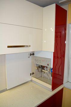 Kitchen Kit, Kitchen Decor, Kitchen Cabinet Design, Kitchen Cabinets, New Kitchen Designs, House Plans, Sweet Home, House Design, Interior Design