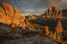 Dolomiti, Tofana di ROzes, Cortina d'Ampezzo, Veneto Italy, Alps, beautiful mountain sunset, New on 500px : Dreams morning by Rericha by Rericha | Chae H. Bae – Blog