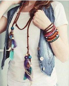 Tutoriales DIY: Cómo hacer un collar estilo boho vía DaWanda.com