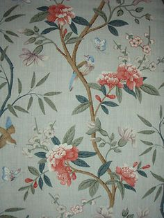 Gp J Baker Fabric Design Peony