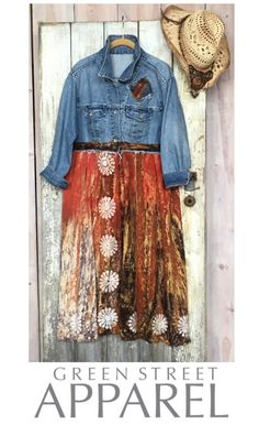 Boho Duster| XL Boho| Festival Duster| Boho Festival Duster| Long Denim Duster| Boho Coat| Boho Jacket| Shabby Chic Clothing by GreenStreetApparel on Etsy https://www.etsy.com/listing/582617686/boho-duster-xl-boho-festival-duster-boho