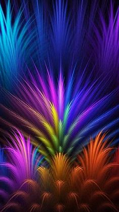 Purple, Violet, Light, Fractal Art Wallpaper for IPhone Abstract Picture, Background and Image Beautiful Nature Wallpaper, Colorful Wallpaper, Wallpaper Backgrounds, Mobile Wallpaper, Phone Backgrounds, Wallpaper Huawei, Cellphone Wallpaper, Fractal Images, Fractal Art