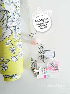 DIY enveloppes fleuries - How to create a floral collection of envelopes - Bohème Circus