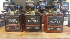 Honey from Greece Our honey from Greece is from The Olive Table. It is 100% natural and raw.   Raw honey has not been filtered, heat-treated or processed in any
