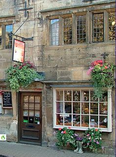 Tea Room ~ Badgers Hall @ Chipping Campden  Gloucestershire, England.