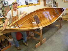 Rides: Joe Pikul's Cedar Strip Prospector Canoe Plans, Boat Plans, Wood Canoe, Log Cabin Living, Bois Diy, Wood Boats, Boat Stuff, Canoe And Kayak, Boat Building