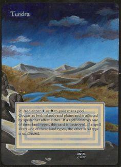 Handpainted Altered Art Tundra http://ebay.to/1Qgs3aR
