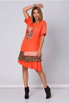 Pagina 2 - Rochii de Zi Casual - Preturi Avantajoase | DyFashion Short Sleeve Dresses, Dresses With Sleeves, Shirt Dress, T Shirt, Casual, Fashion, Vestidos, Low Key, Supreme T Shirt