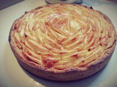 Appel mascarpone taart