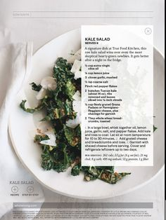 Kale is one o the best greens you can eat. This salad is sooo good!