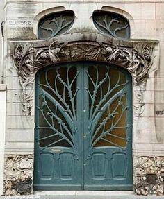 fabulous blue doors