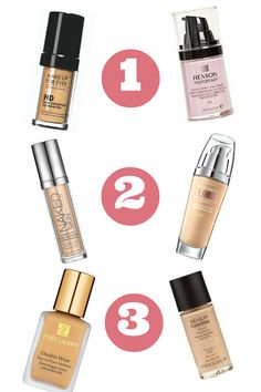6 High End Foundation Dupes
