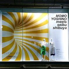 "SEIBU SHIBUYA, Tokyo, Japan, ""Early Summer Collection"", creative by Momo Yoshino, pinned by Ton van der Veer"