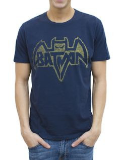 Batman Logo Vintage Inspired Solid Tee, $34, by Junk Food Clothing  I'm really digging this redesign of the classic Bat-symbol.