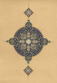 The crucial role of #geometry in #Islamic art (© Dana Awartani)