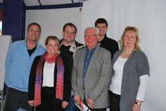 Gute Stimmung auf der Jahreshauptversammlung des Vereins der Wirtschaftsingenieure für Transportwesen (VdWT) e.V. im Turmzimmer der Hochschule Bremerhaven am 17.3.2012