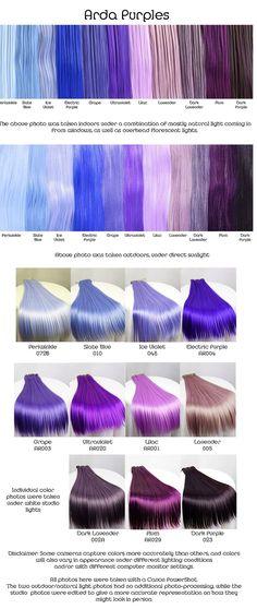 25 High Fashion Summer Outfits for 2019 - Frisuren und bunte haare - Lilac Hair Hair Color Purple, New Hair Colors, Purple Tips, Periwinkle Hair, Purple Streaks, Dark Purple Hair, Dark Blue, Violet Hair Colors, Dyed Hair Purple