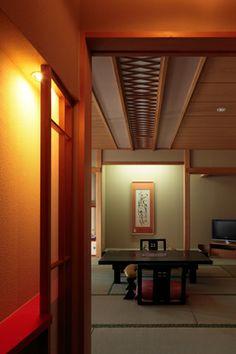 Japanese-style hotel ( Bourou NOGUCHI Hakodate ). Yunokawa-Onsen. Hakodate. Hokkaido. Japan.
