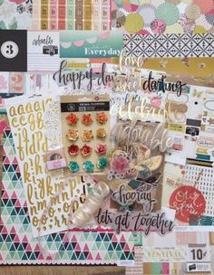 Scrappy Chick Designs: My Creative Scrapbook: May Reveal Day 1~ Crate Paper Confetti May Main Kit