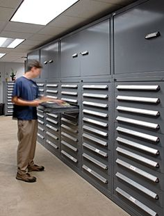 Outfit your military parts storage space with Stanley Vidmar cabinets. http://www.stanleyvidmar.com/government/parts-storage
