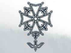 Huguenot Cross Tattoo I N K E D Pinterest Crosses