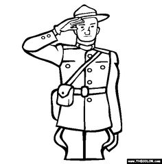 mountie coloring page free mountie online coloring