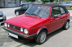 Volkswagen Golf I Vw Golf Cabrio, Volkswagen Golf Mk1, Vw Cabriolet, Golf 1, Cars Motorcycles, Convertible, Nice List, Rabbit, Caribbean
