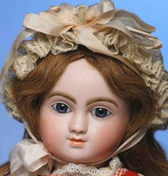 """150: RARE EARLY """"FIGURE C"""" FRENCH BISQUE STEINER BEBE : Lot 150"""