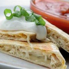 Chicken Quesadillas Allrecipes.com