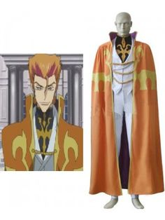 Code Geass Luciano Bradley Cosplay Outfits Costumes