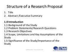 example of research question in research proposal