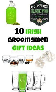 10 Irish Groomsmen Gift Ideas
