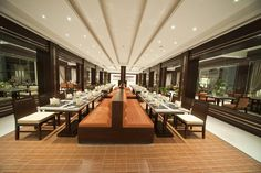 Main Restaurant  at  SUNRISE Grand Select Crystal Bay Resort- Hurghada Egypt